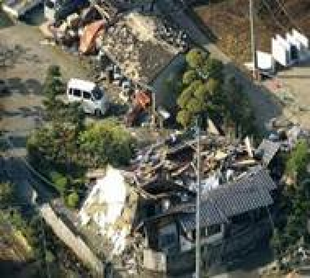 Rescuers scramble for survivors after deadly quake hits Japan