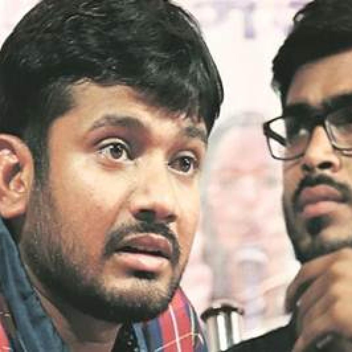 Kanhaiya campaigns for CPI in Mumbai