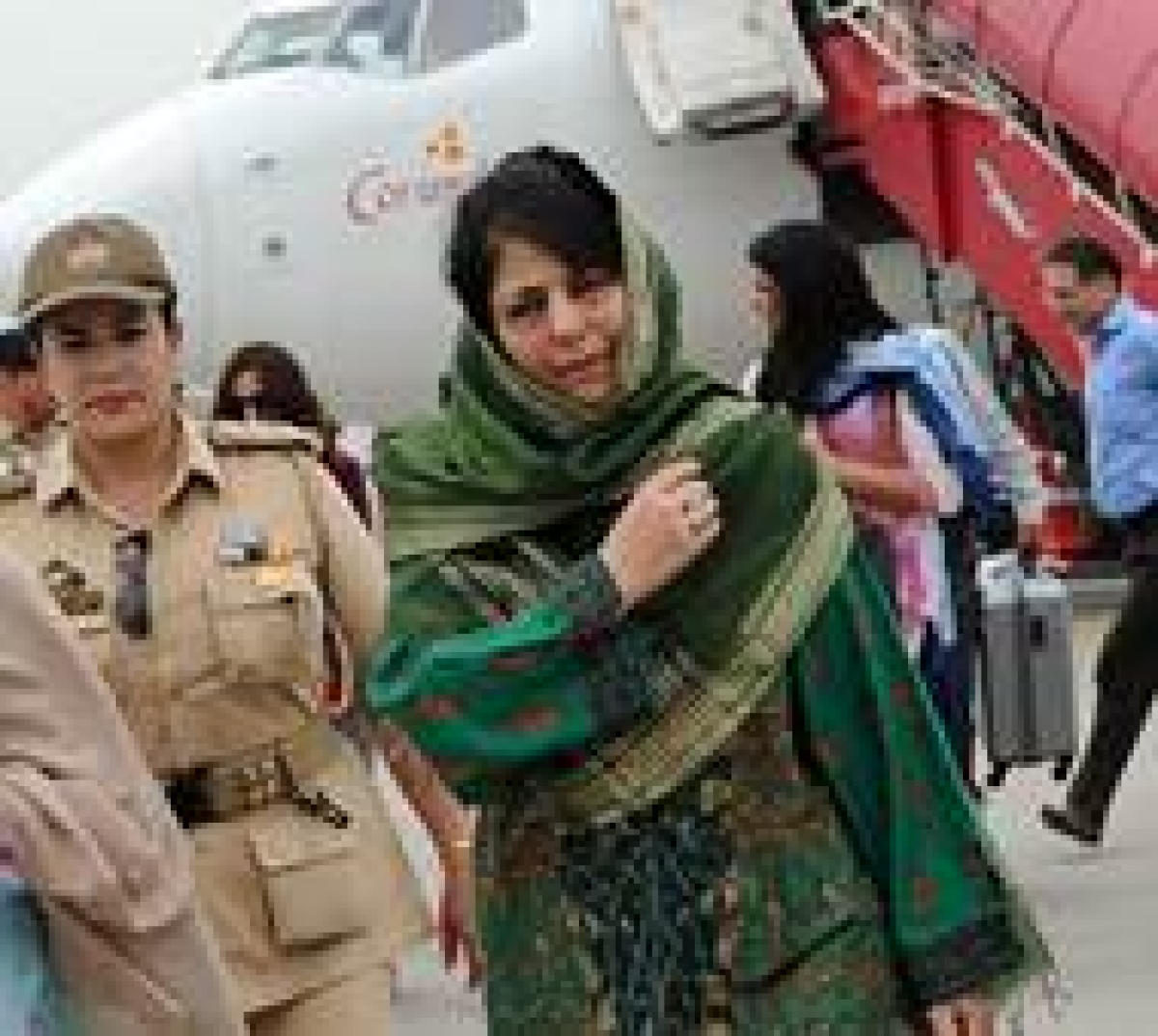 Mehbooba Mufti takes oath as first woman CM of J-K