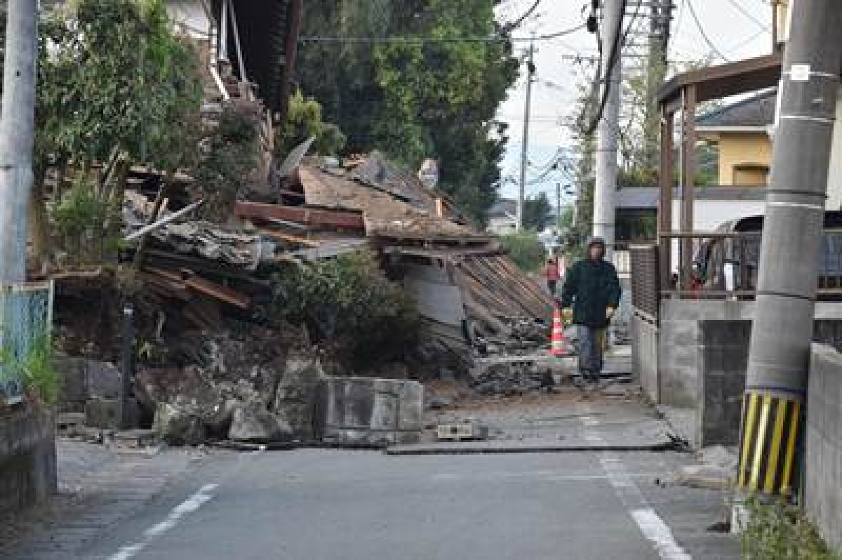 15 killed in Japan quake