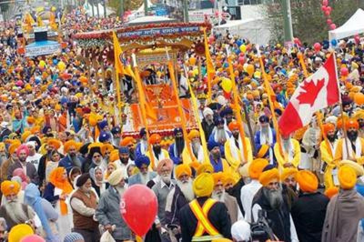 Dynamic celebrations of Vaisakhi around the world