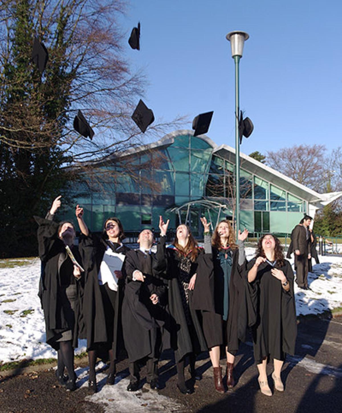 Varsity bans throwing of graduation hats