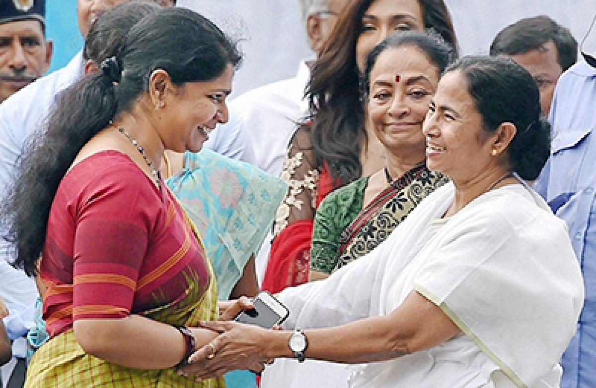 Mamata takes fresh  guard as Bengal CM