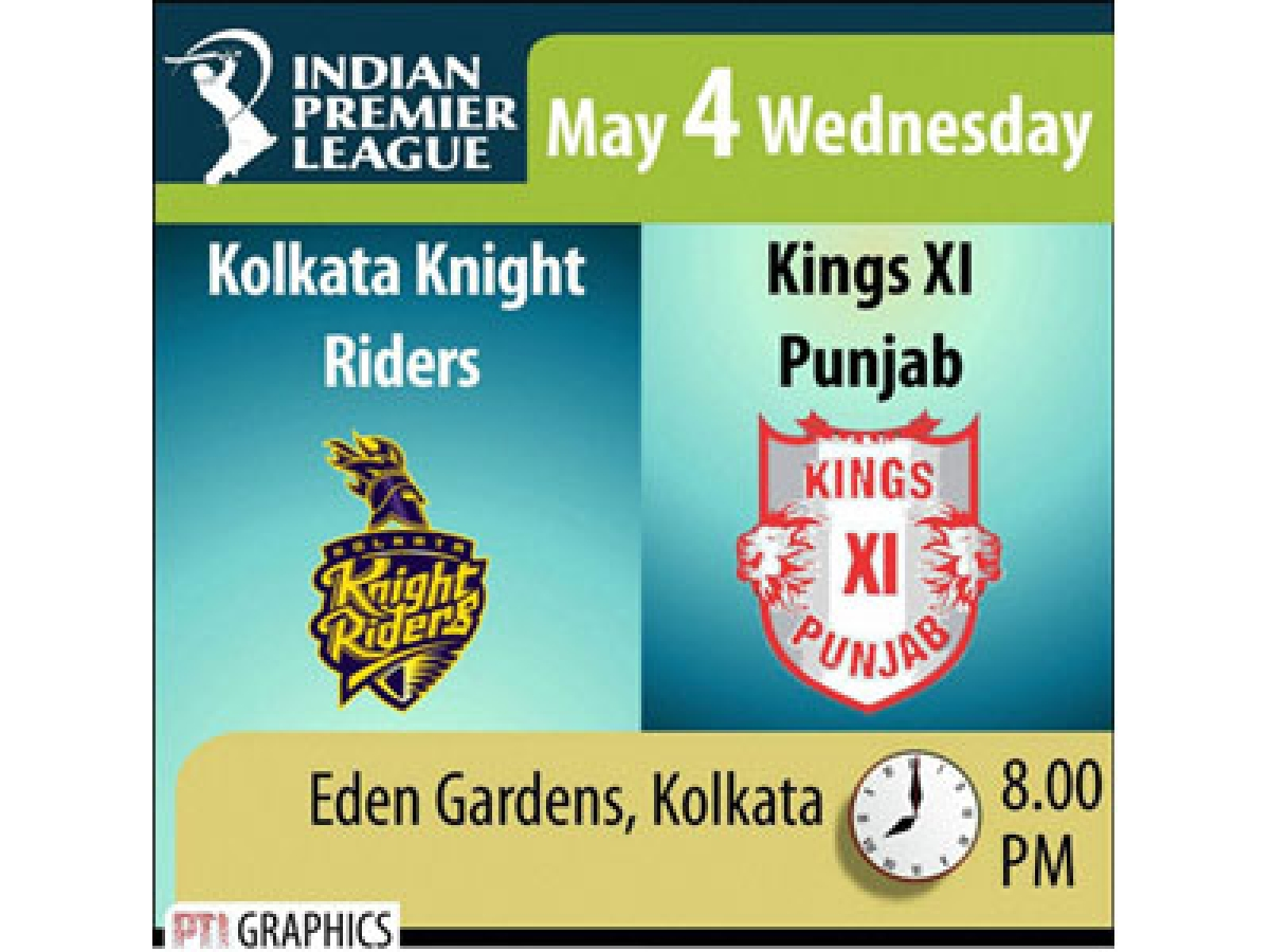 Home comfort vs Resurgence – KKR back to its den now, takes on KXIP