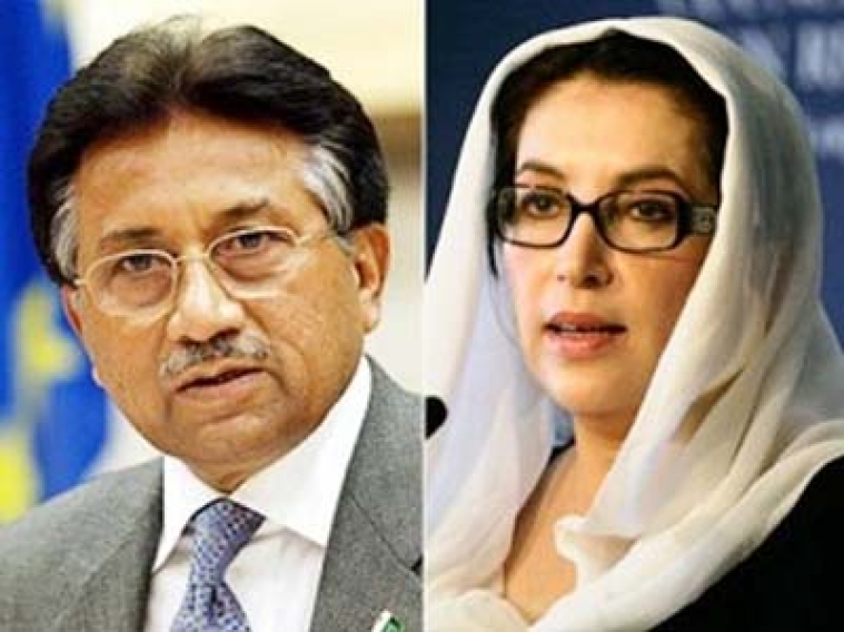 Musharraf's threat call to  Benazir remains untraceable