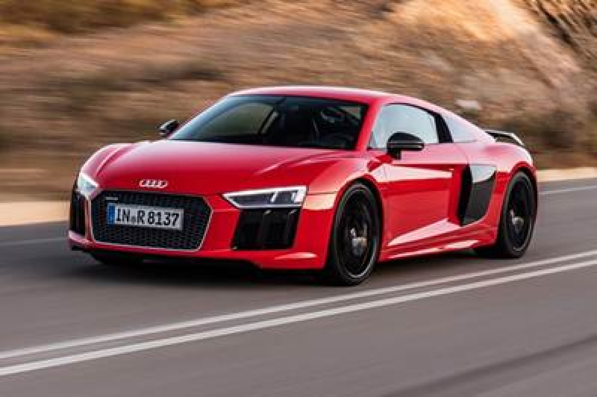 Audi launches Audi R8 V10 Plus in India