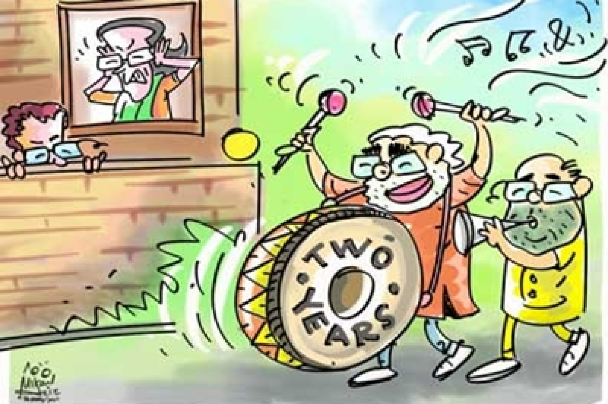 Modi 2 Years: Saharanpur rally, PM says, 'I am a UP wala'