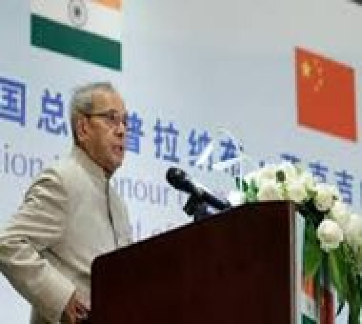 Mukherjee lists 8 steps to resolve issues between India, China
