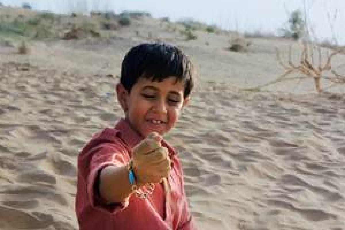 Look, Salman's lucky bracelet!