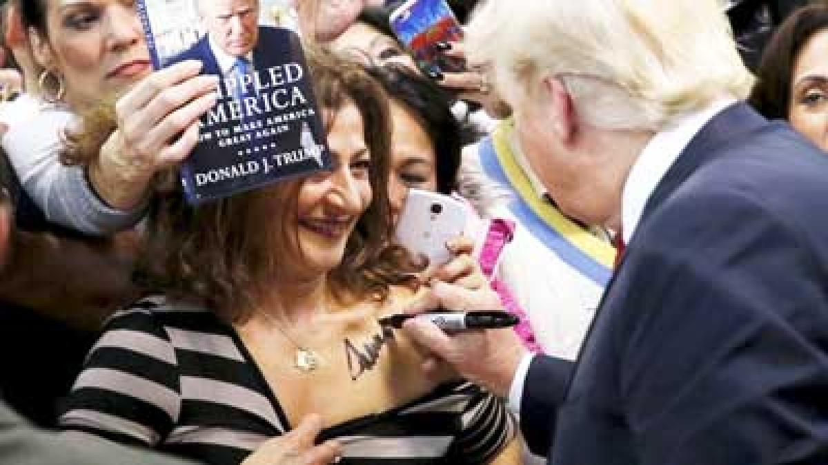 Ladies Man: Donald Trump has a mixed history of his dealings with women