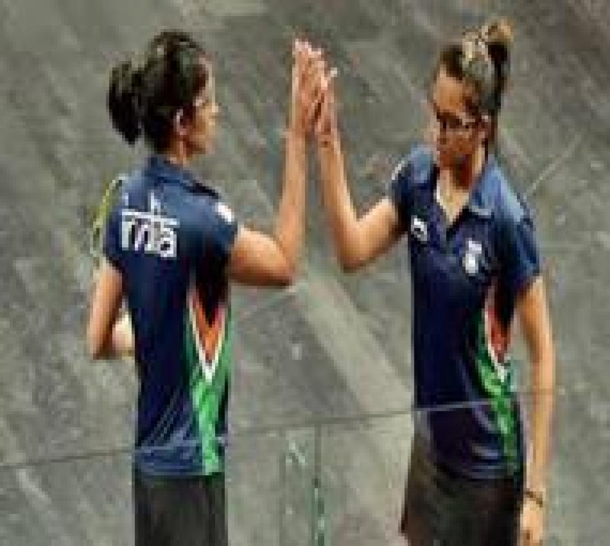 Dipika, Joshna enter quarters in Hong Kong