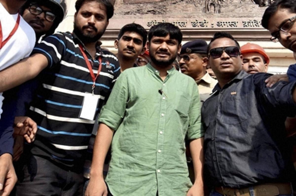 JNU hunger strike enters 10th day, Kanhaiya withdraws