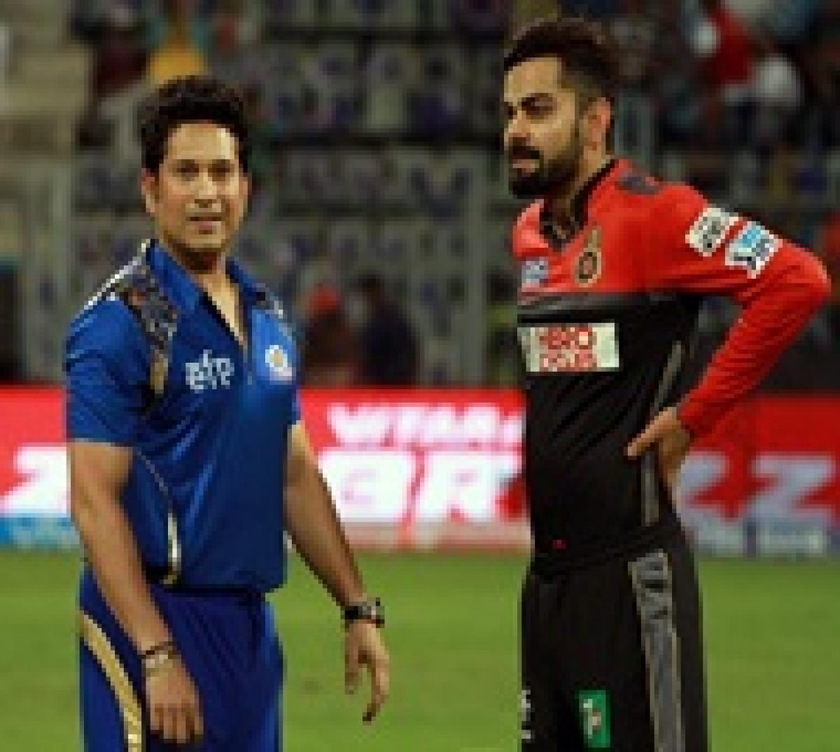Kohli shouldn't be compared to Tendulkar: Sehwag