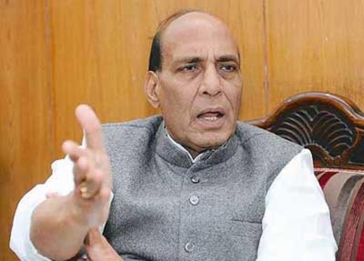 Congress a 'sinking' ship,  has no future: Rajnath