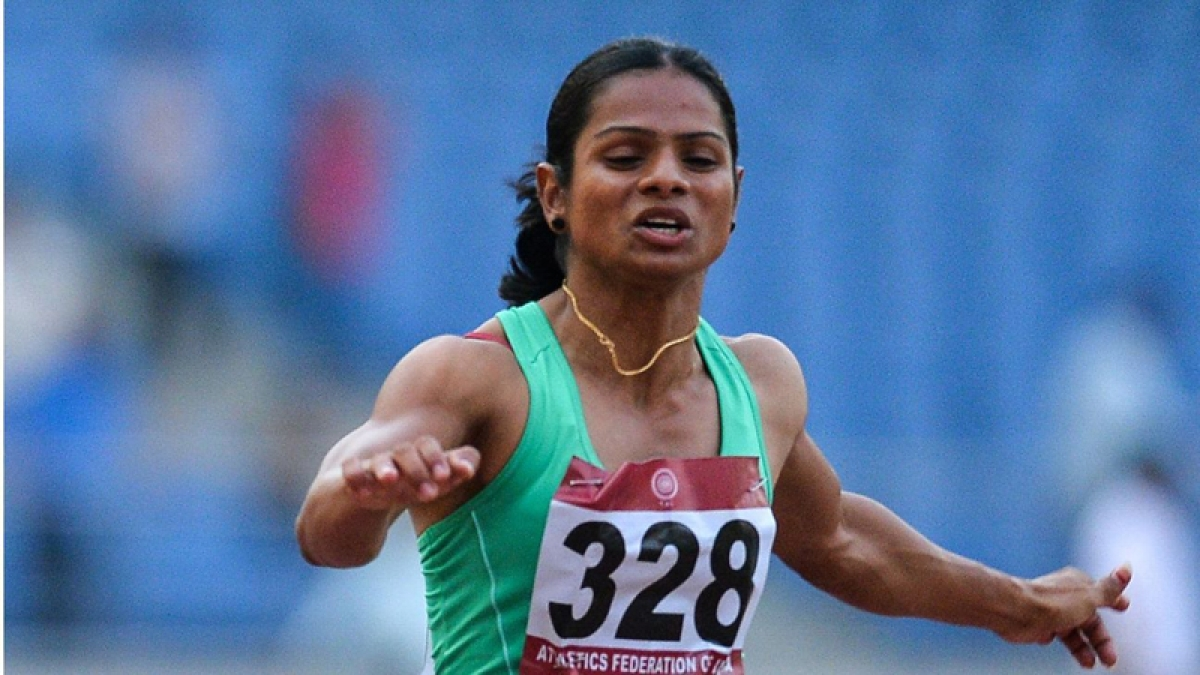 Dutee qualifies for Rio, first Indian for 100m dash in 36 years