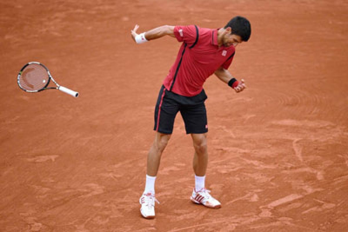 Lucky not to be disqualified: Novak Djokovic