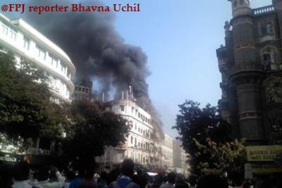 Colaba Fire Update: 15 fire-tenders, Navy pressed into action