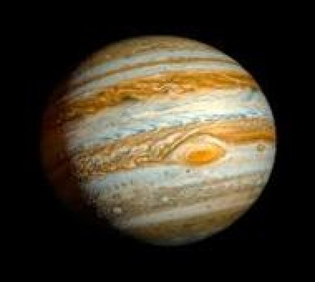 Radio map reveals massive ammonia gas at Jupiter