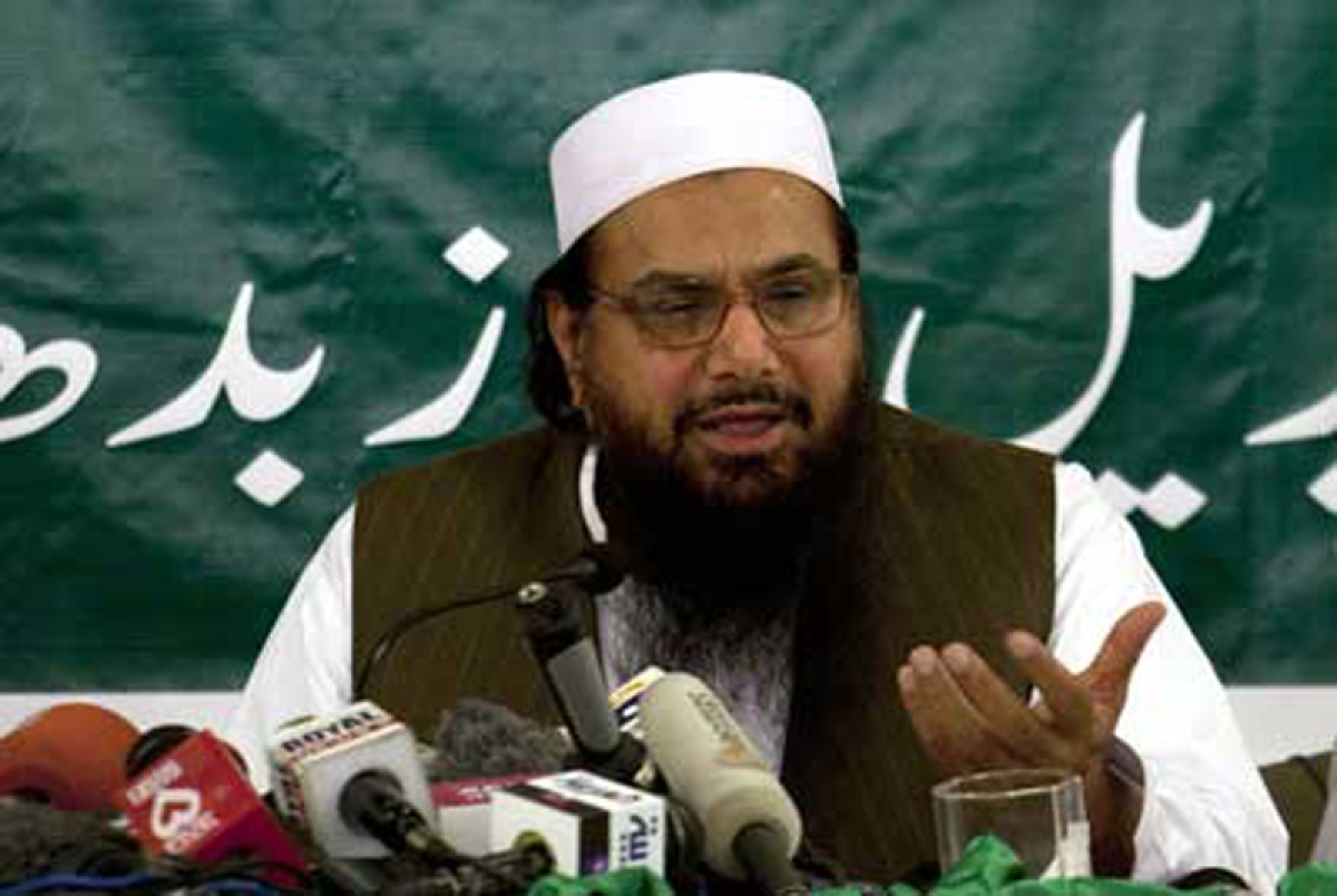 "Pakistan requesting UNSC to allow ""pocket money"" for Hafiz Saeed exposes its duplicity: India"