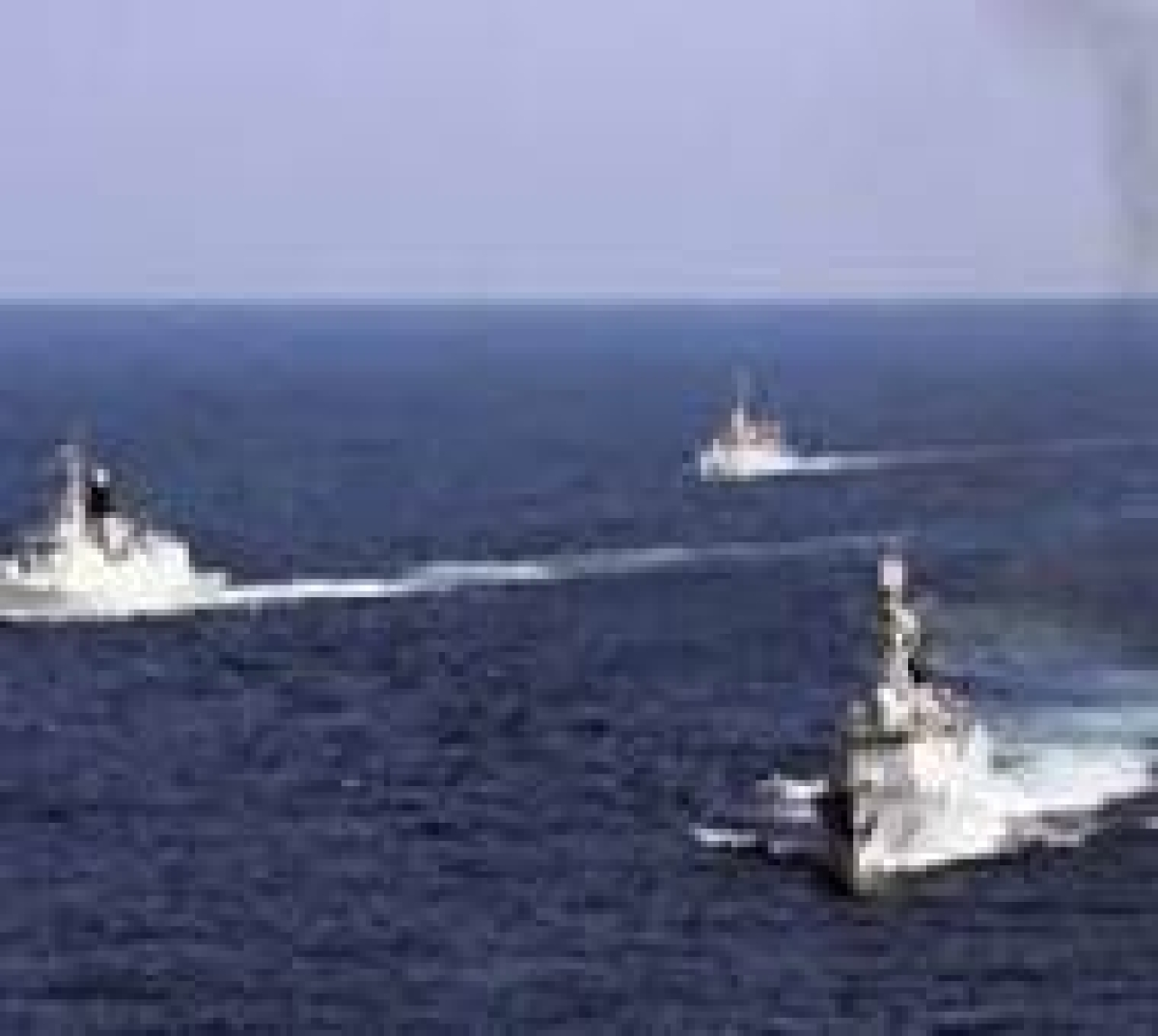 Chinese military ship enters Japanese waters
