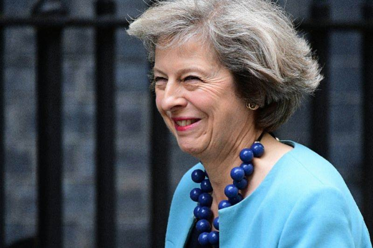 Theresa May, daughter of Vicar, set to govern Britain