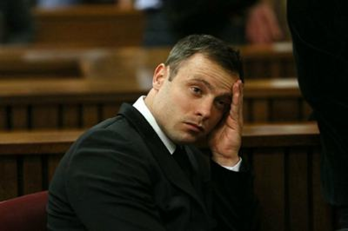 Oscar Pistorius gets threats of gang rape ahead of murder sentence