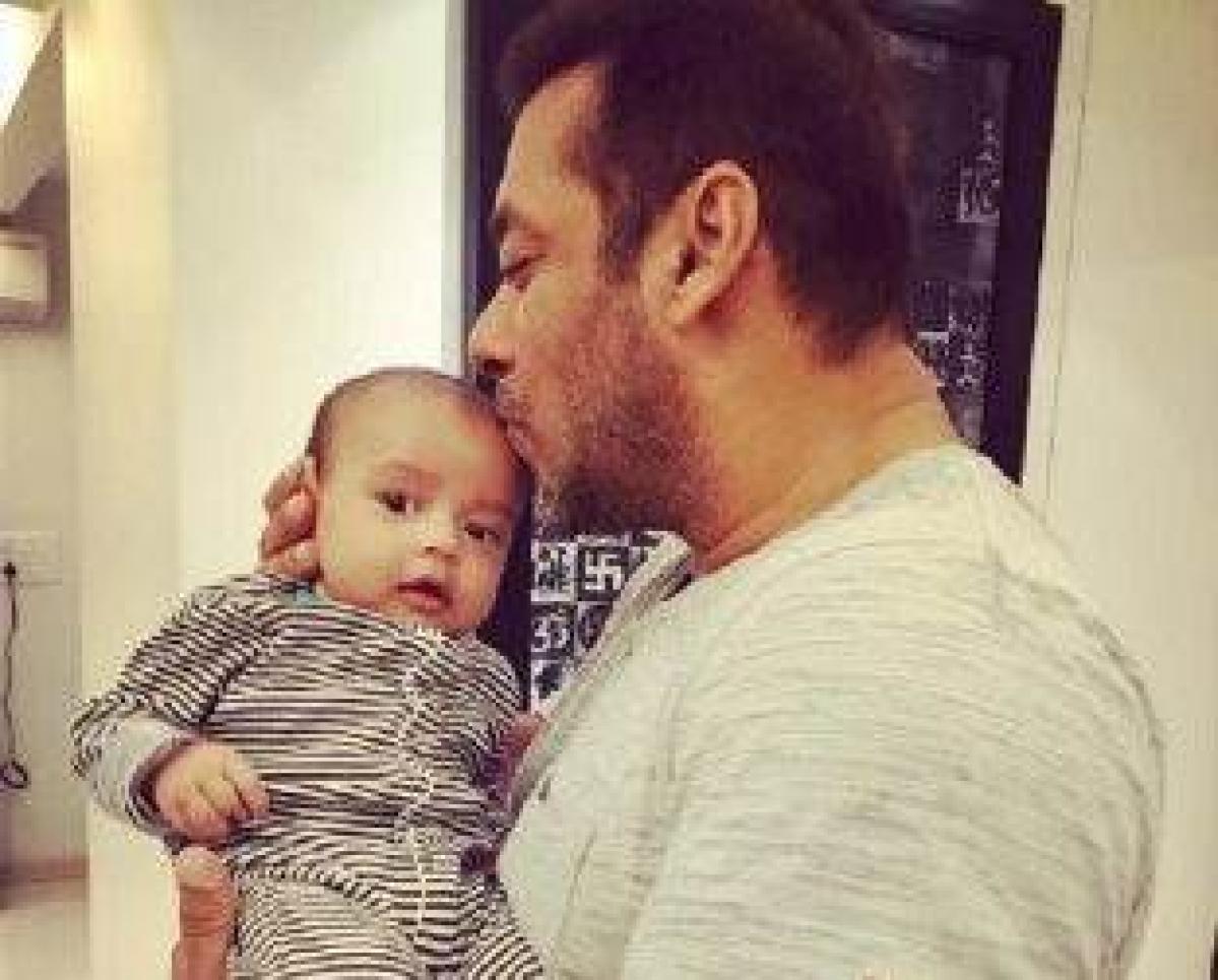 Salman Khan's mamu moments with nephew Ahil