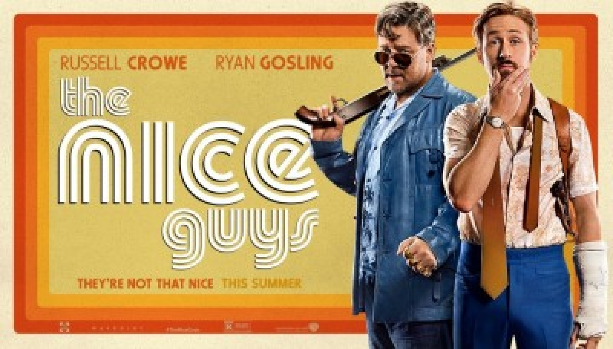 Movie Review:  The Nice Guys – Noirish crime caper