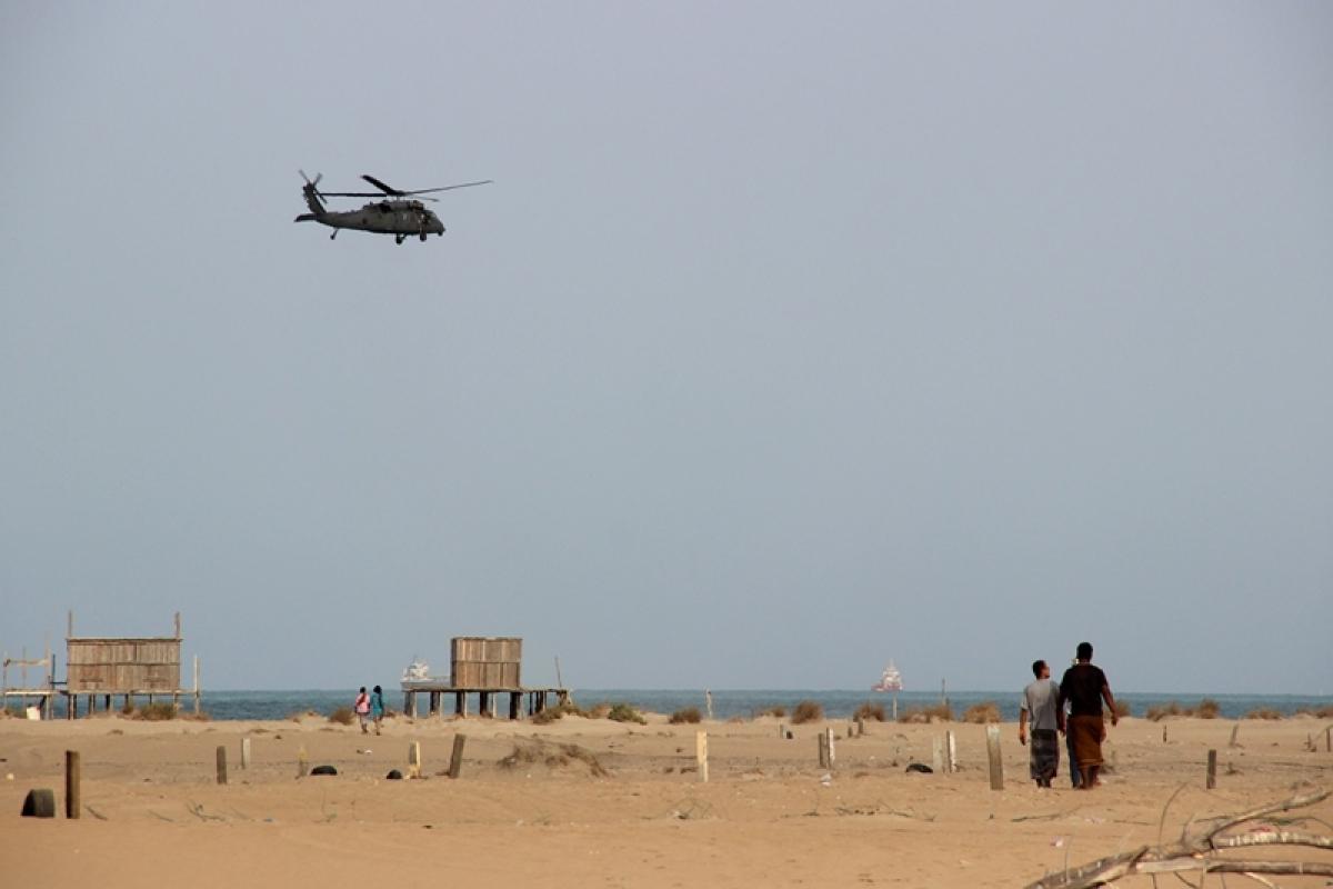 Rebel drone bombs Yemen military parade, kills at least 6