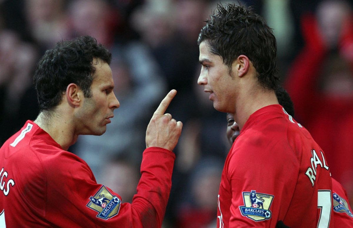Giggled the first time I saw Ronaldo play: Giggs