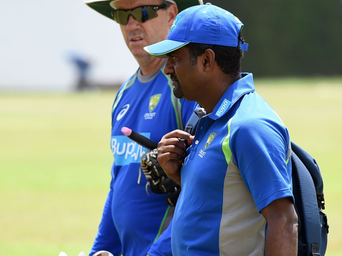 Muralitharan is now consultant for Aussies