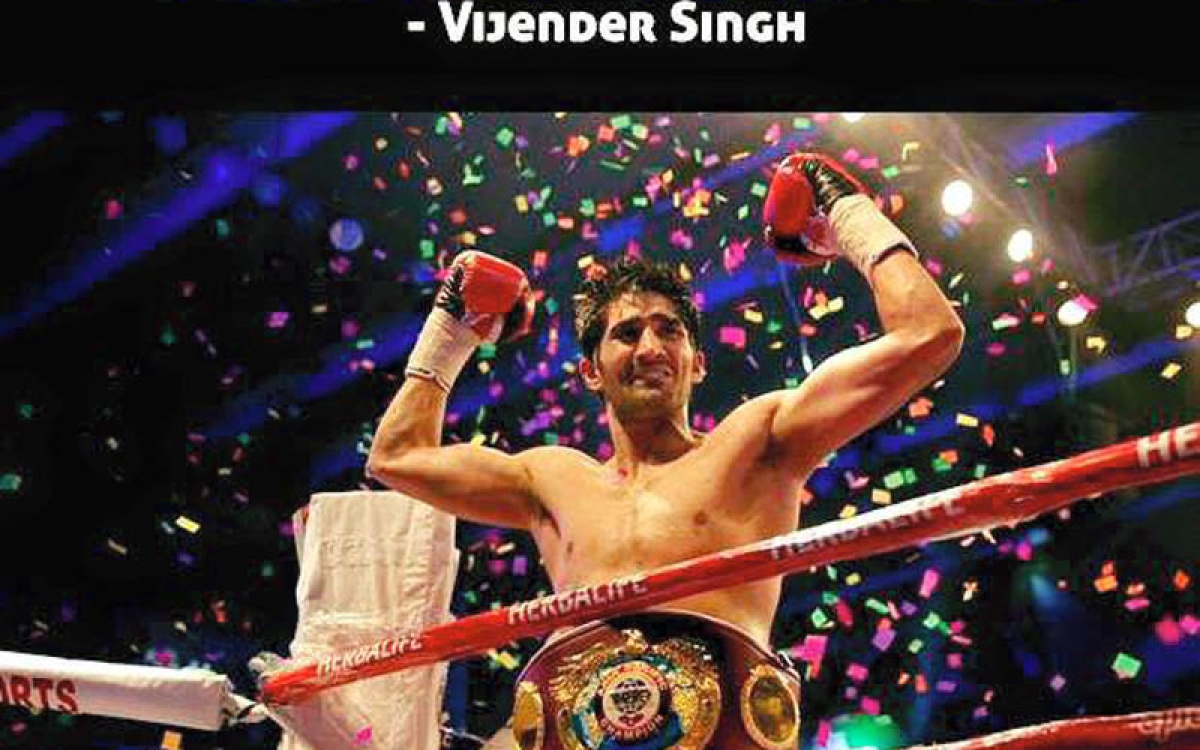 Vijender Singh hints at Amir Khan