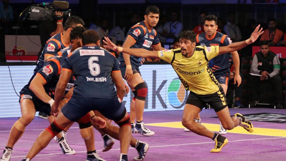 Bengal Warriors tie with Telugu Titans
