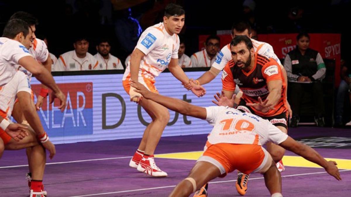 Anup powers Mumbai's win over Pune