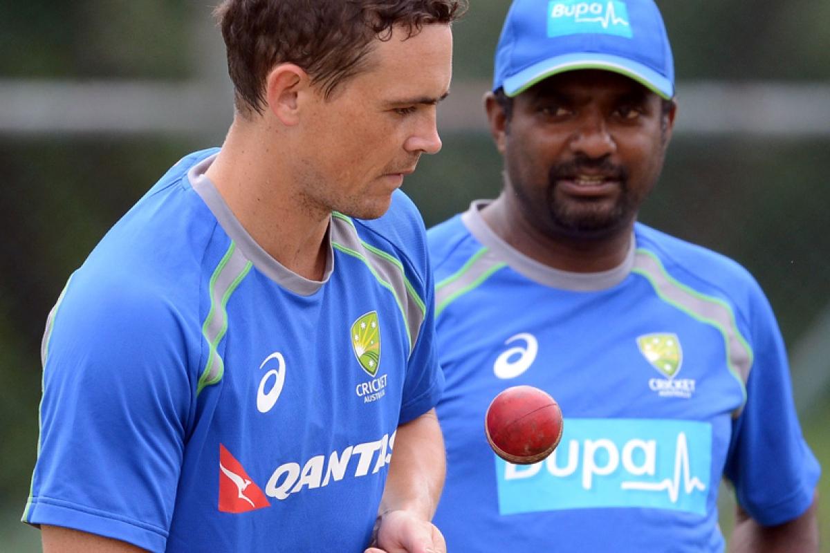 Sri Lanka Boos Muttiah Muralitharan Over Australia stint