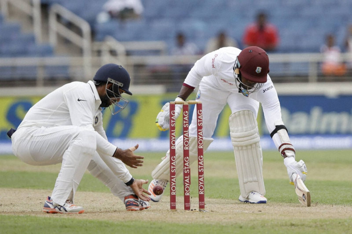Visitors give tough time to West Indies