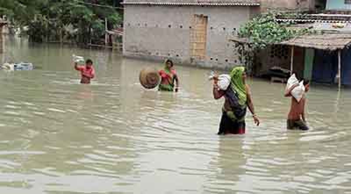 Flood-hit Assam and Bihar seek help