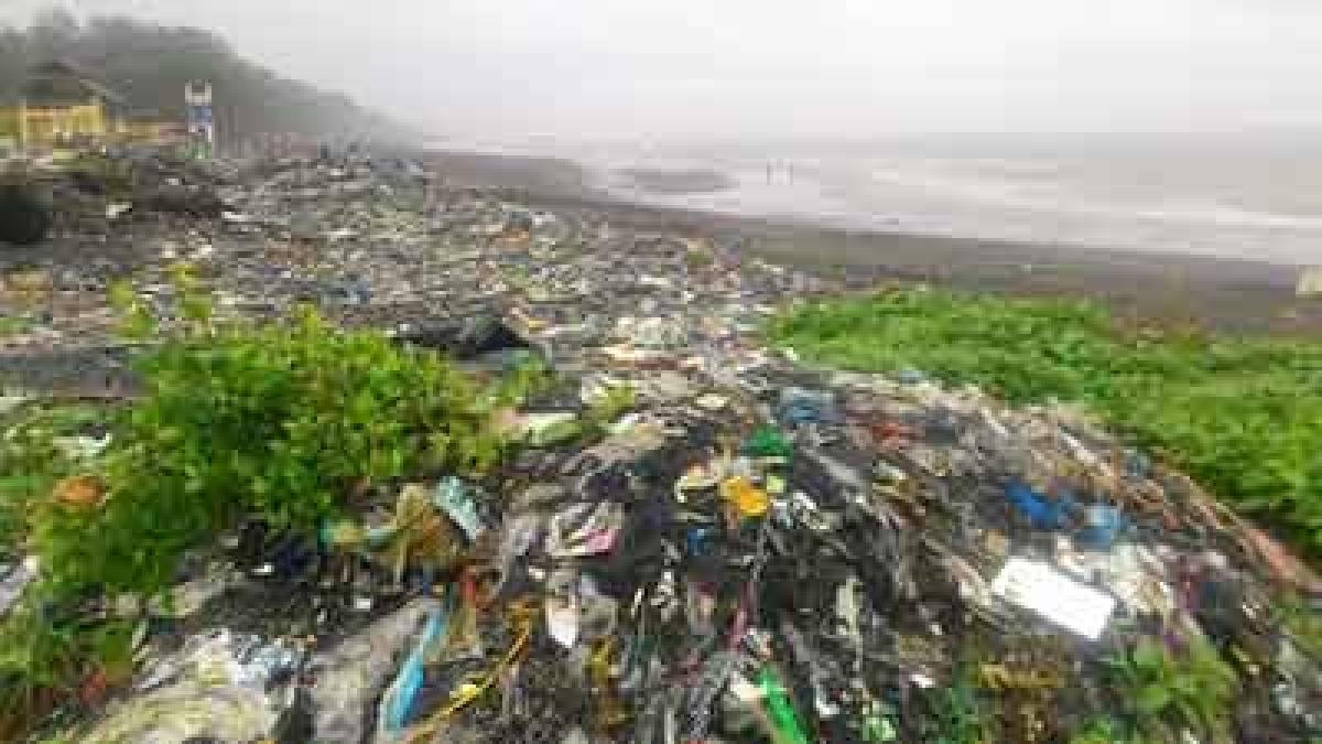 Arnala beach fast turning into dumping ground