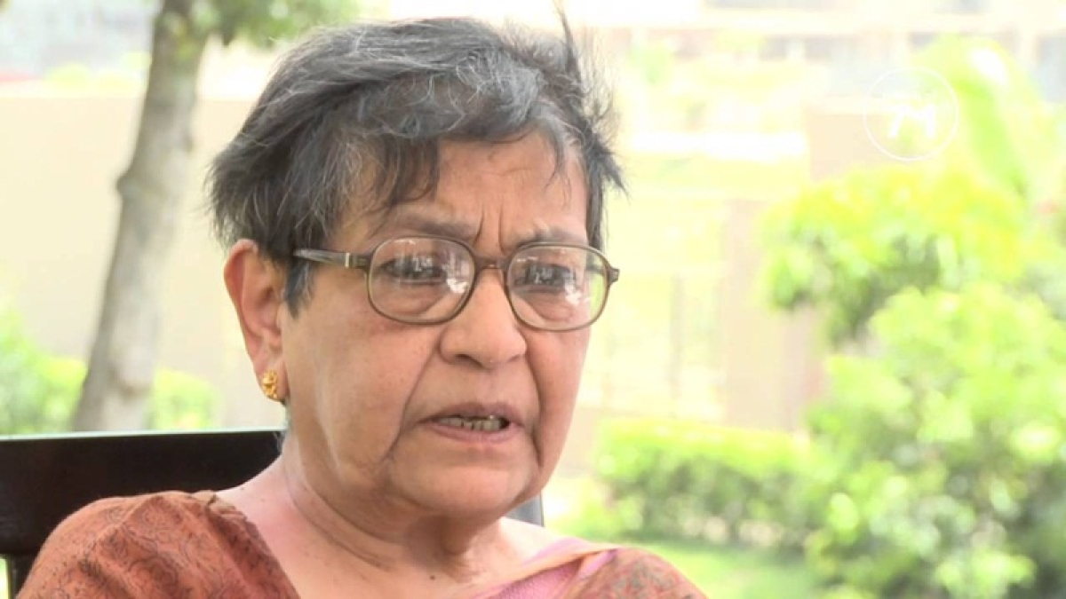 Former diplomat Arundhati Ghose passes away