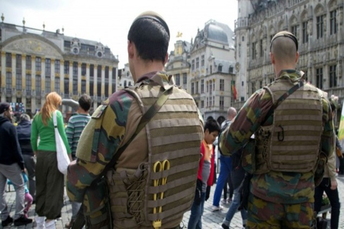 Police arrest 2 suspected of plotting attack in Belgium