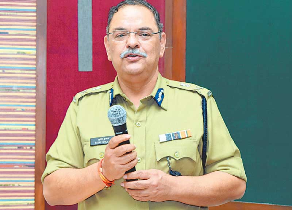 'Leadership is most significant concern for cops' – DGP Rishi Kumar Shukla