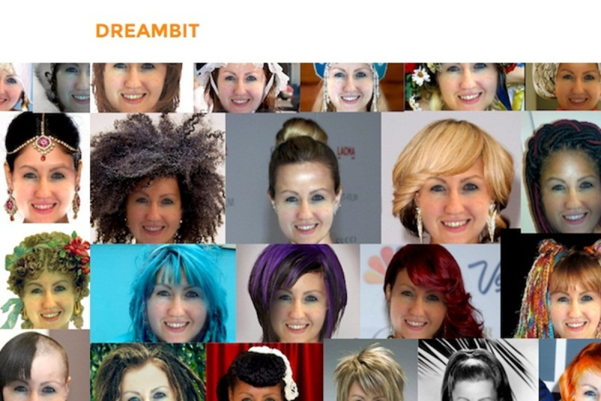 Now, a software to help you feel sure of your next hairdo