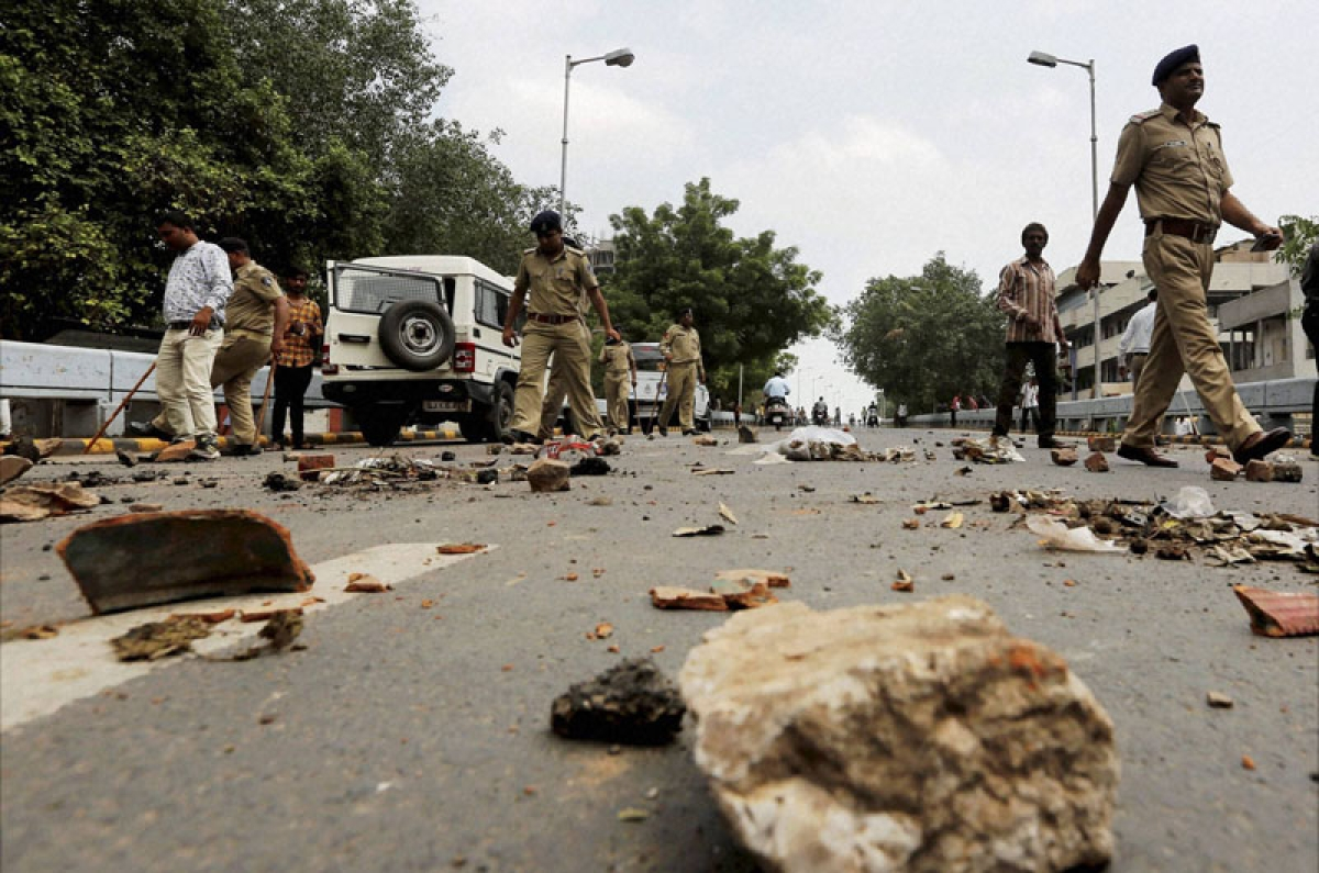 Six dead as Dalit protests turn violent