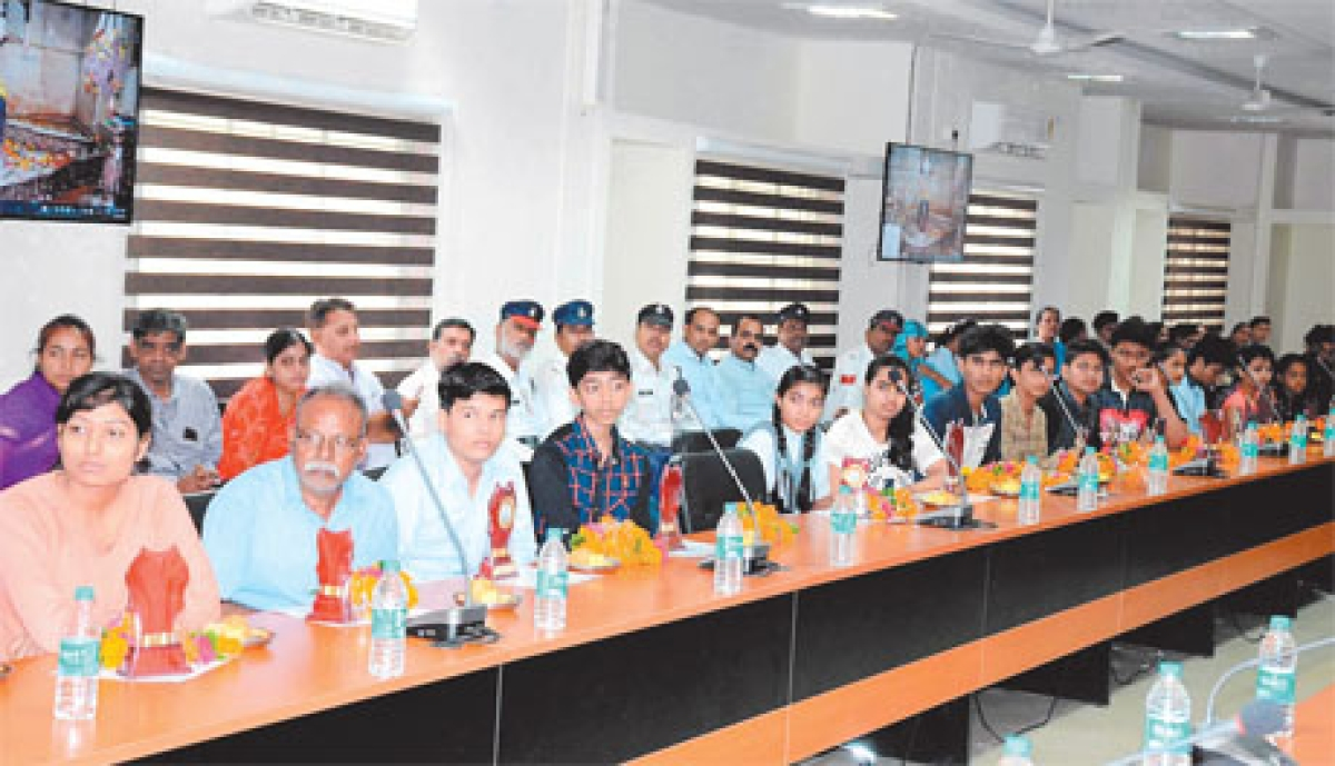 Police honour meritorious students