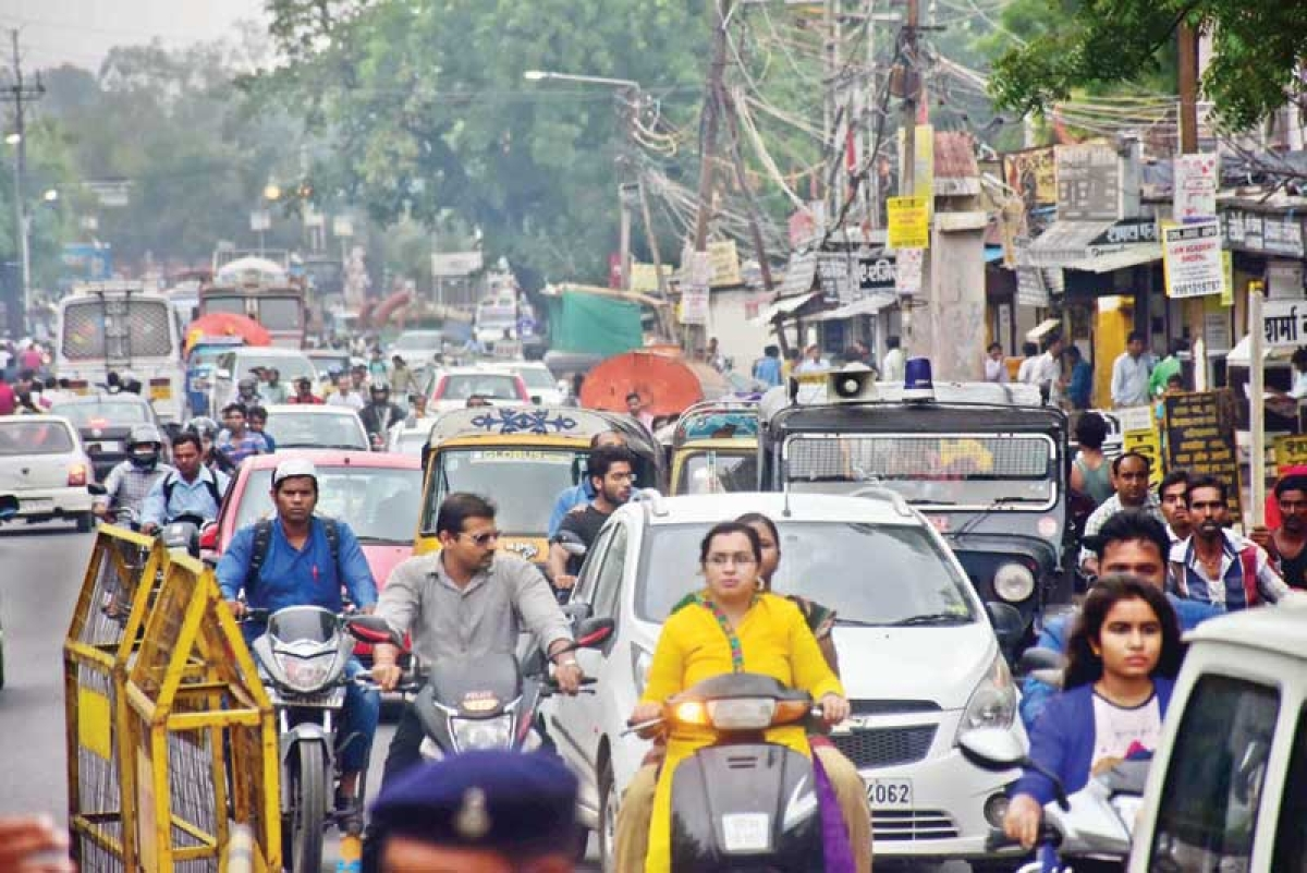Oath taking ceremony throws traffic out of gear