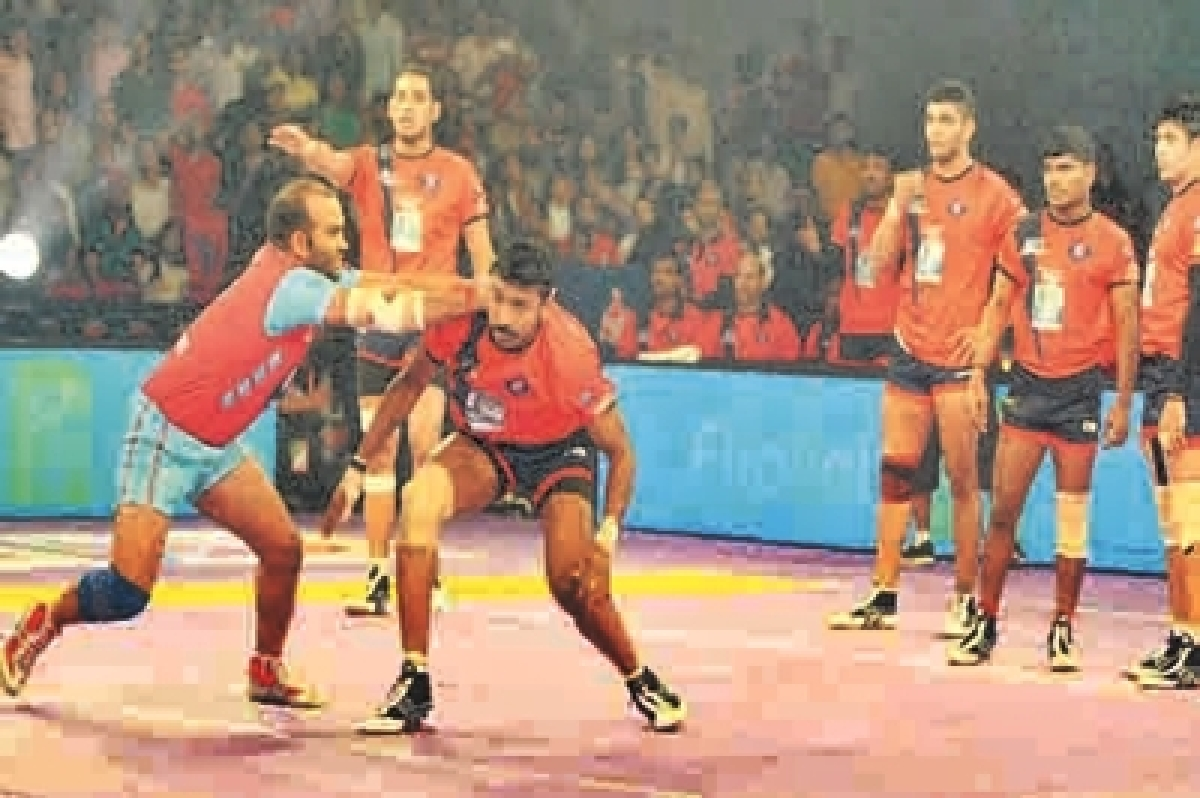 Jaipur Pink Panthers crush Dabang Delhi KC 51-26