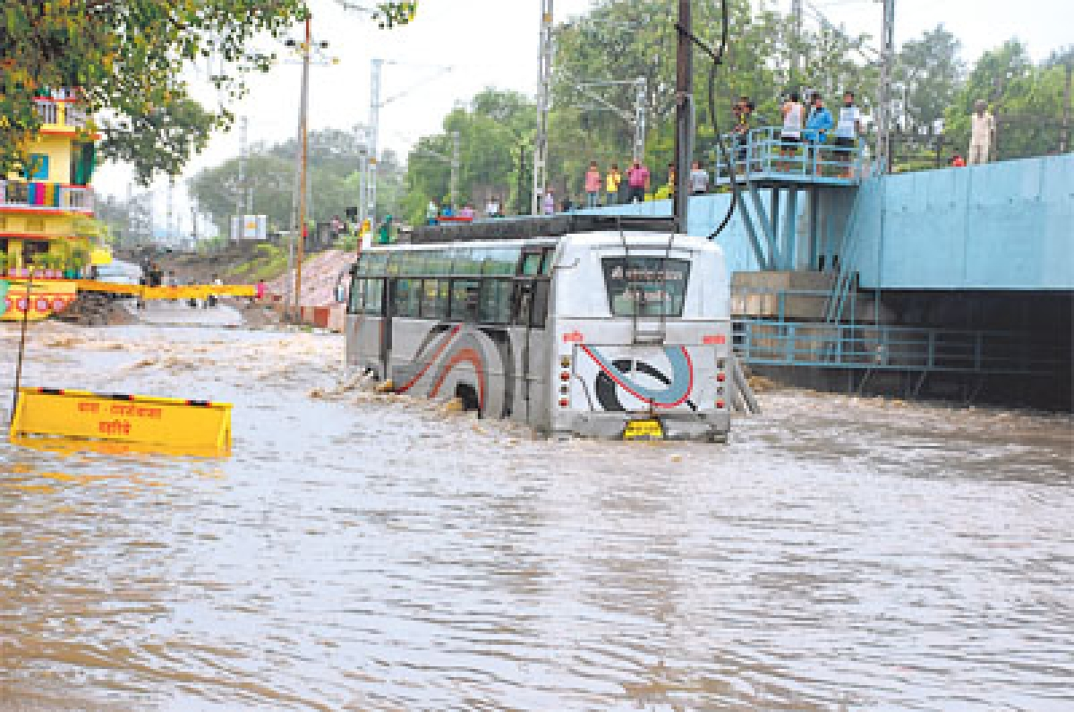 4 inch rains recorded in last 2 days in city
