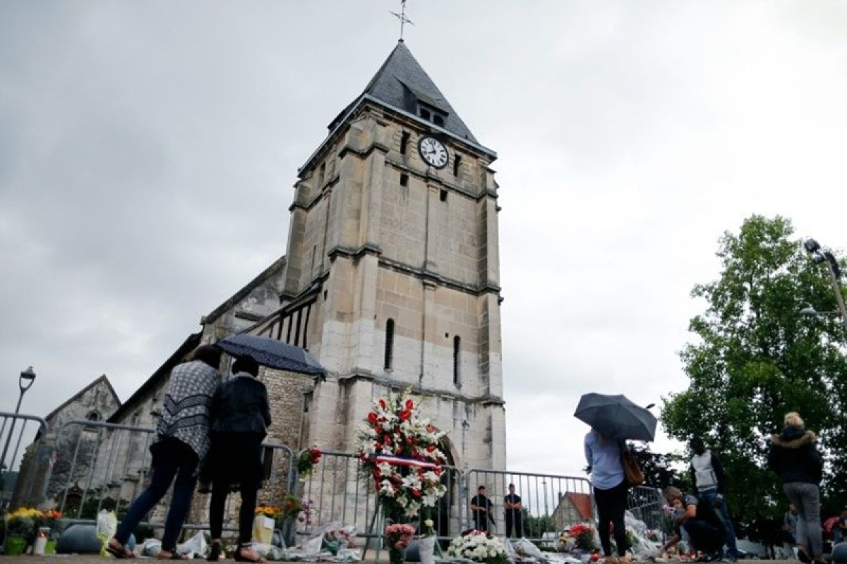 France church attackers 'smiled' and spoke of Koran