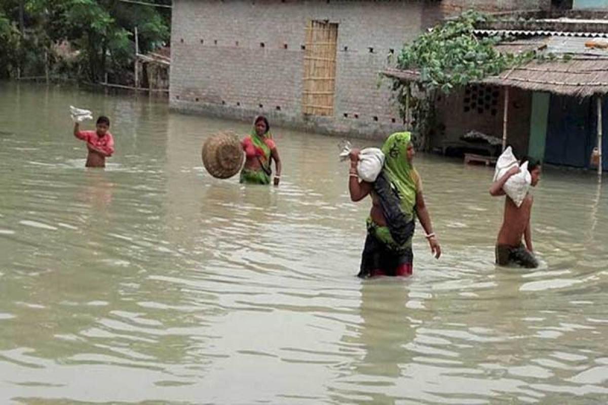 27.50 lakh people affected in Bihar floods