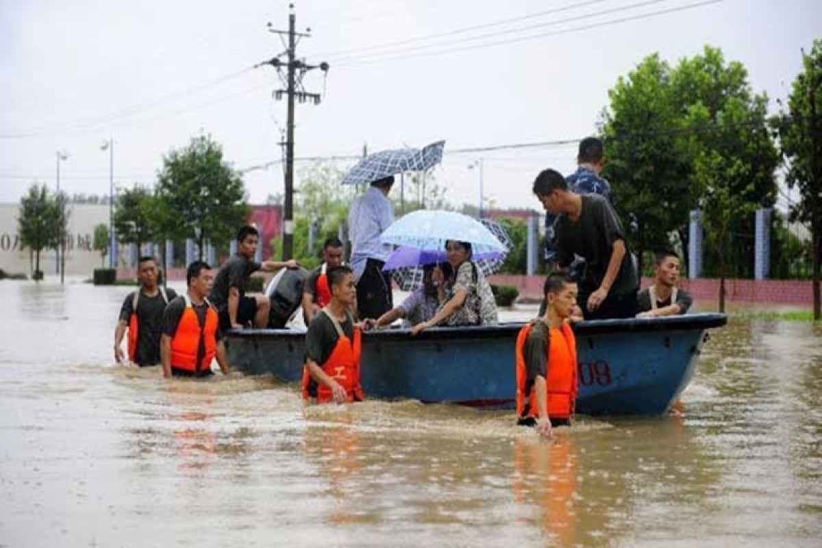 116 killed or missing as rains create havoc in China